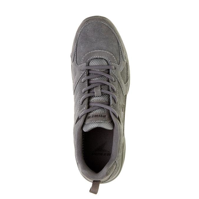 Kožené tenisky power, šedá, 803-2114 - 19