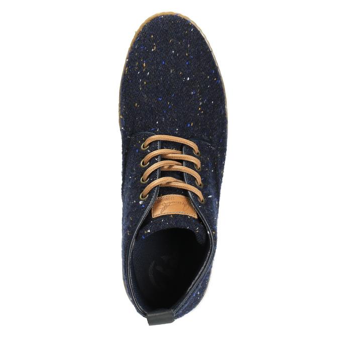 Pánské ležérní tenisky bata, modrá, 849-9621 - 19