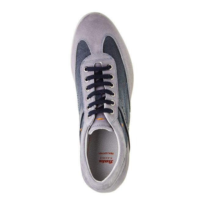 Pánské ležérní tenisky flexible, modrá, 826-9638 - 19