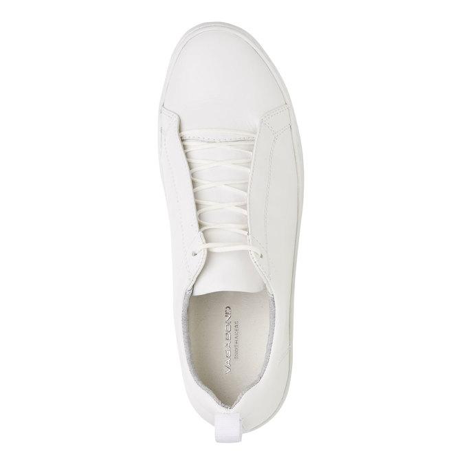 Bílé kožené tenisky vagabond, bílá, 824-1004 - 19