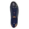 Pánské kožené tenisky bata, modrá, 844-9626 - 19