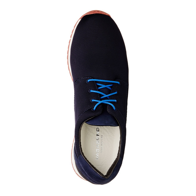 Pánské značkové tenisky vagabond, černá, modrá, 849-9019 - 19