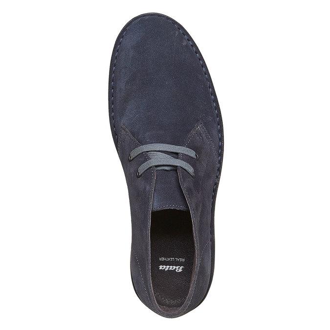 Kotníčková obuv ve stylu Chukka bata, šedá, 893-9275 - 19