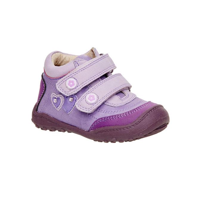 Dívčí kotníčkové boty mini-b, fialová, 121-9104 - 13