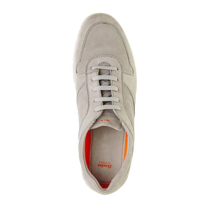 Ležérní kožené tenisky flexible, béžová, 846-2650 - 19