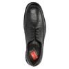 Pánské kožené polobotky fluchos, černá, 824-6629 - 19