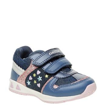 Dětské prodyšné tenisky geox, modrá, 129-9102 - 13