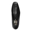 Pánské kožené polobotky bata, černá, 824-6669 - 19