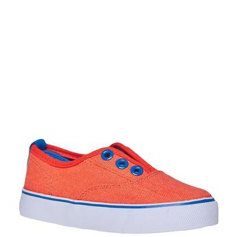 Dětské Slip on boty mini-b, oranžová, 219-4150 - 13