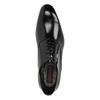 Kožené polobotky v Oxford střihu conhpol, černá, 826-6729 - 19