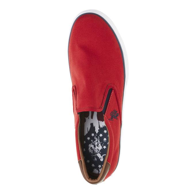 Pánské červené Slip on u-s-polo-assn-, červená, 849-5002 - 19