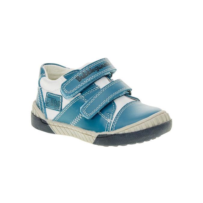 Dětské tenisky na suché zipy bubblegummer, modrá, 113-9145 - 13