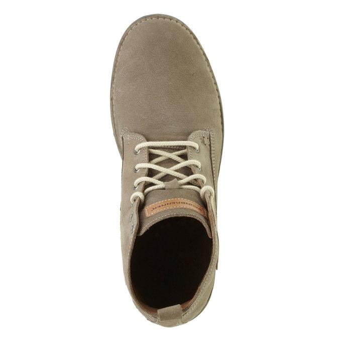 Kožená kotníčková obuv weinbrenner, hnědá, 896-2340 - 19