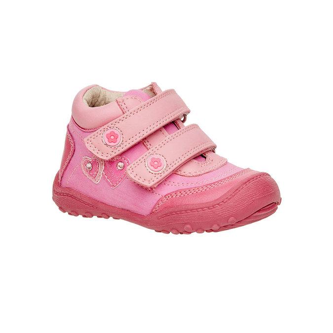 Dívčí kotníčkové boty mini-b, růžová, 121-5104 - 13