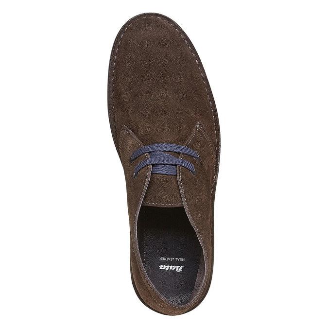 Kotníčková obuv ve stylu Chukka bata, hnědá, 893-4275 - 19