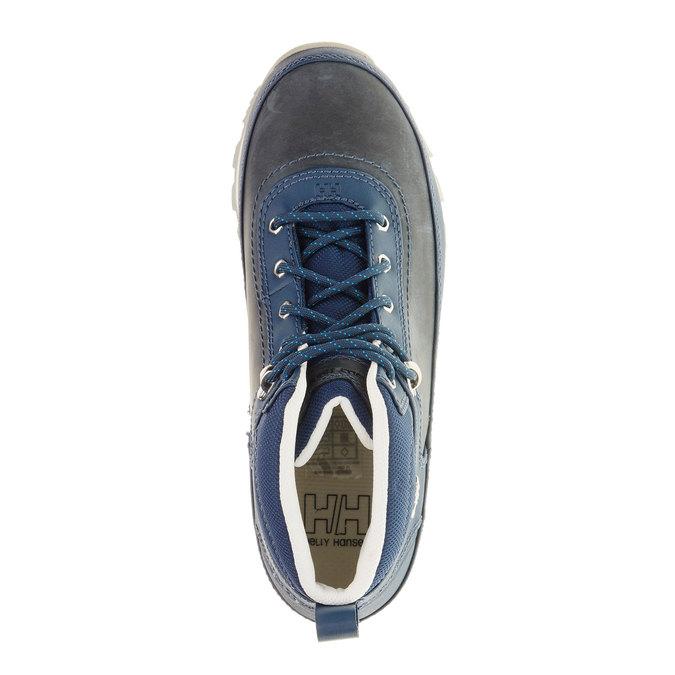 Kožené zimní boty ke kotníkům helly-hansen, modrá, 594-9002 - 19