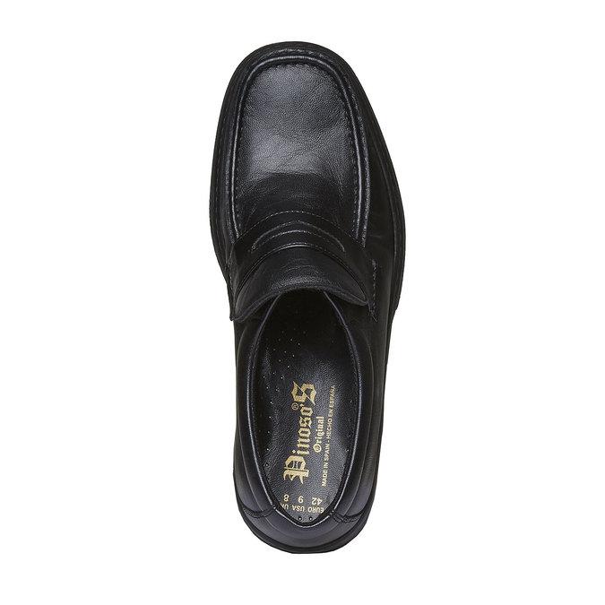 Kožená obuv pinosos, černá, 814-6119 - 19