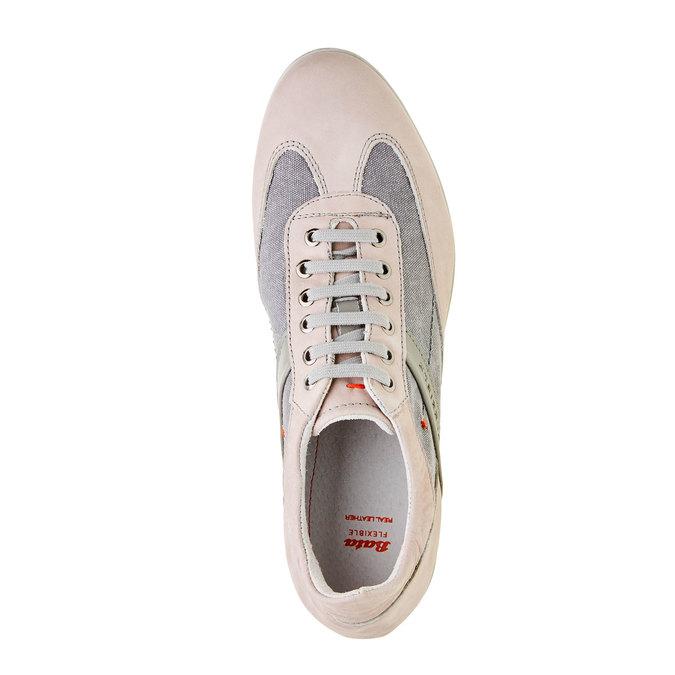 Pánské ležérní tenisky flexible, šedá, 826-2638 - 19