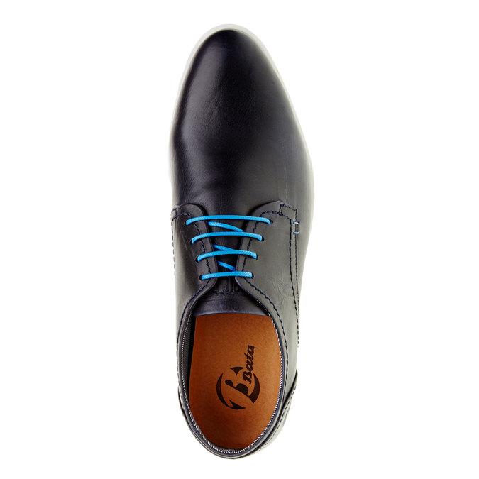 Kožené ležérní polobotky bata, černá, 824-9105 - 19