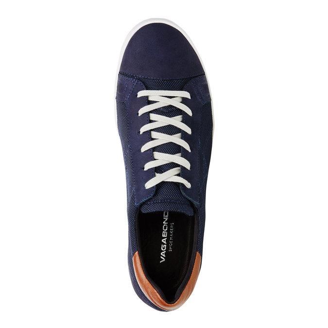 Pánské ležérní tenisky vagabond, modrá, 829-9004 - 19