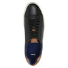 Pánské kožené tenisky bata, černá, 844-6626 - 19