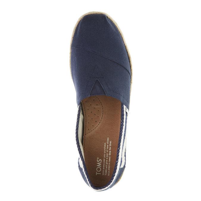 Pánské Espadrilles toms, modrá, 819-9005 - 19