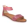 Dětské růžové sandály mini-b, růžová, 361-5161 - 13