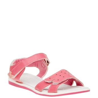Dívčí sandály na suché zipy mini-b, růžová, 361-5180 - 13