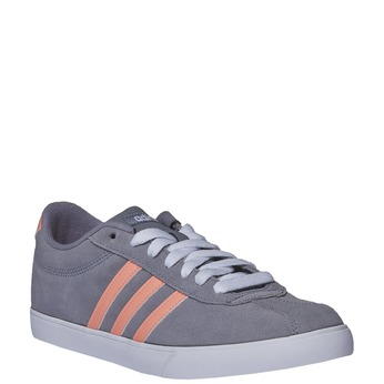 Ležérní kožené tenisky adidas, šedá, 503-2685 - 13