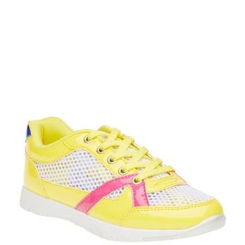 Dětské tenisky mini-b, žlutá, 329-8175 - 13