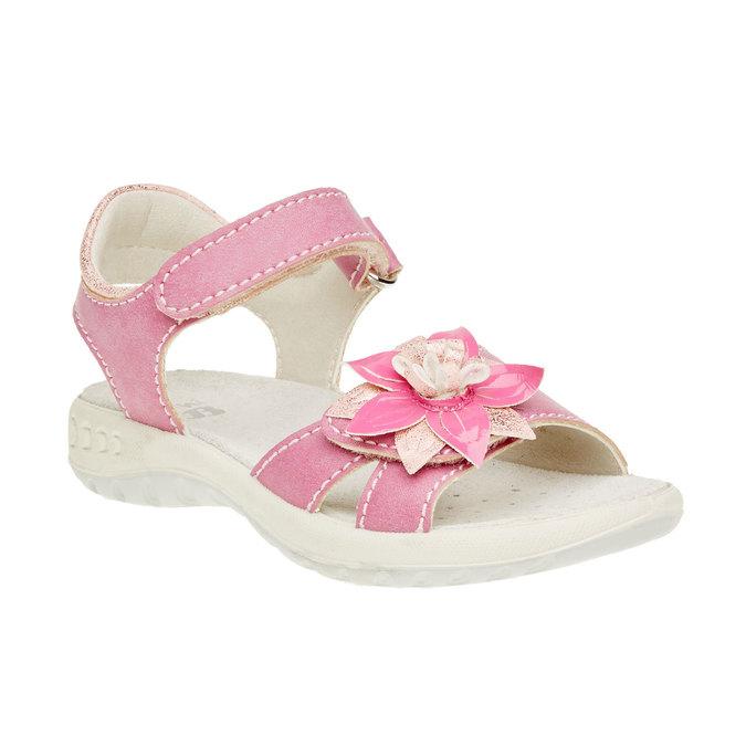 Dětské sandály mini-b, růžová, 361-5119 - 13