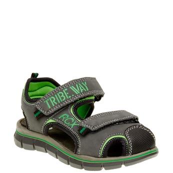 Dětské sandály mini-b, šedá, 361-2120 - 13
