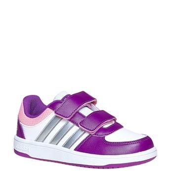 Dětské tenisky na suché zipy adidas, fialová, 301-1167 - 13