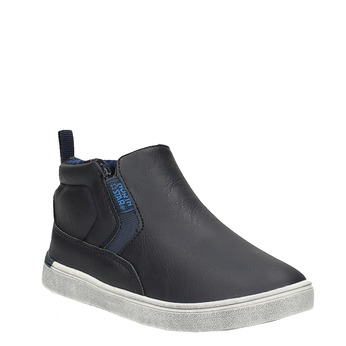 Dětská kotníčková obuv typu Slip-on north-star, modrá, 411-9603 - 13