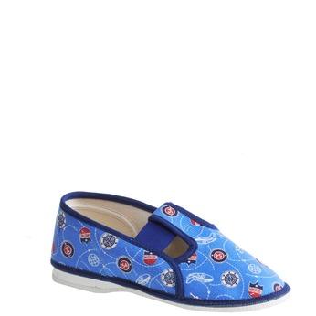 Dětské pantofle bata, modrá, 279-9011 - 13