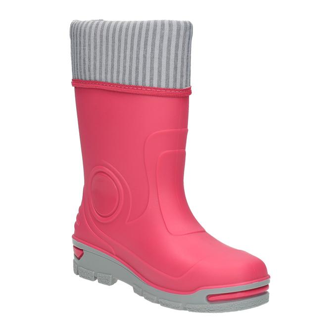 Dětské růžové holínky mini-b, růžová, 292-5200 - 13