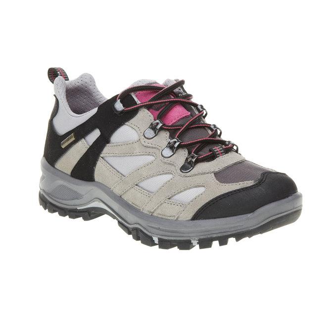 Kožené Outdoor boty, šedá, 543-2208 - 13