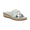 Dámské kožené sandály comfit, bílá, 574-1248 - 13