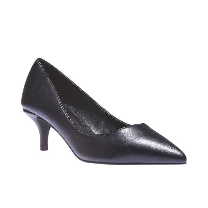 Lodičky s prodlouženou špičkou bata, černá, 621-6101 - 13