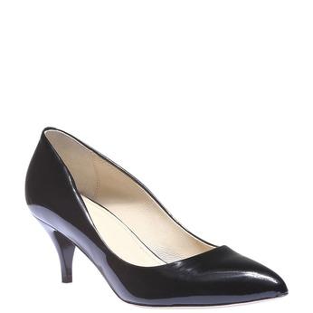 Lodičky s prodlouženou špičkou bata, černá, 628-6100 - 13