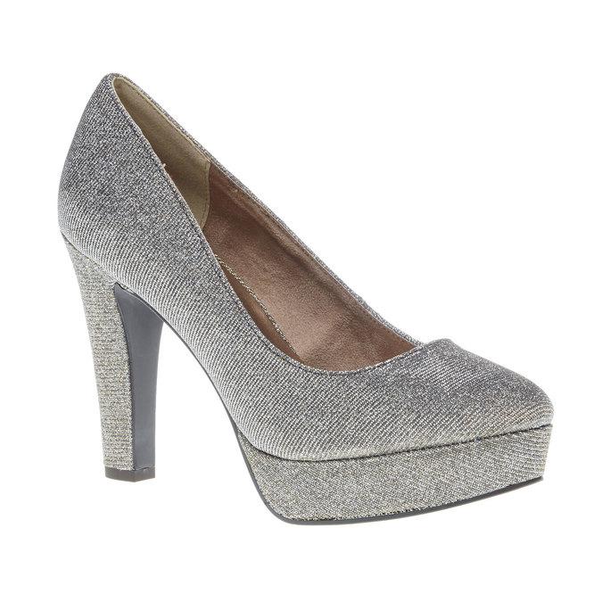 Lodičky na vysokém podpatku bata, stříbrná, 721-1101 - 13