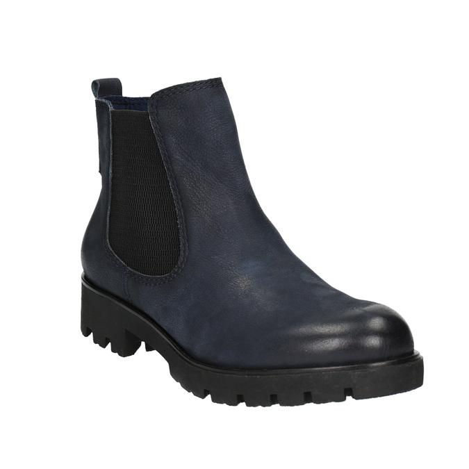 Dámská kotníčková obuv bata, modrá, 696-9606 - 13