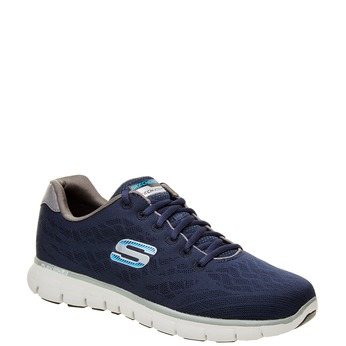 Pánské sportovní tenisky skechers, modrá, 809-9979 - 13