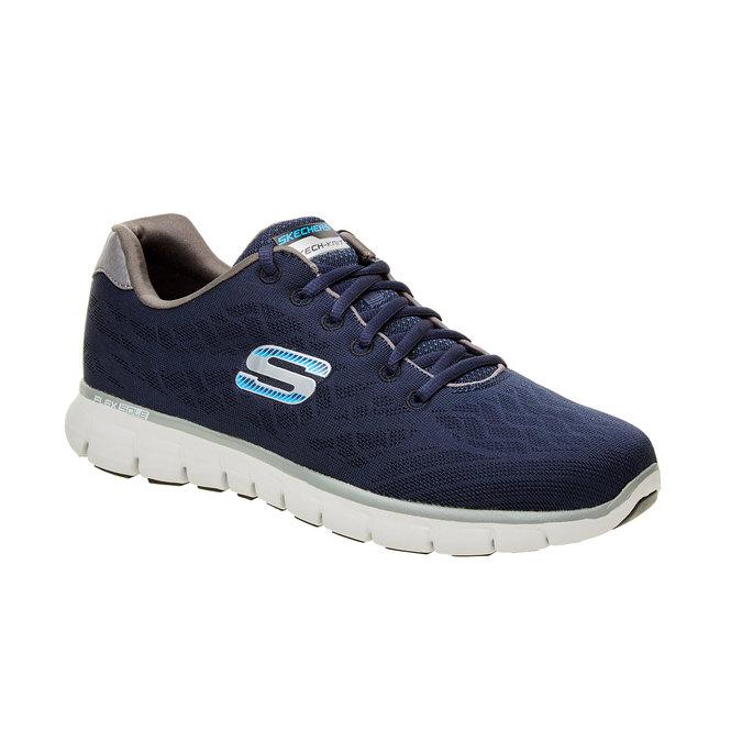 Pánské sportovní tenisky skecher, modrá, 809-9979 - 13