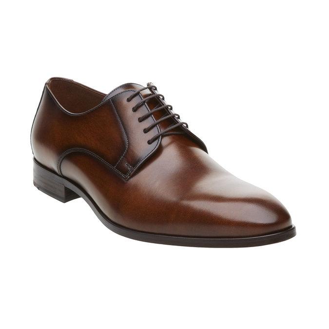 Pánská obuv ve stylu Derby lloyd, hnědá, 824-3338 - 13