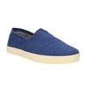 Pánské modré Slip on toms, modrá, 819-9006 - 13