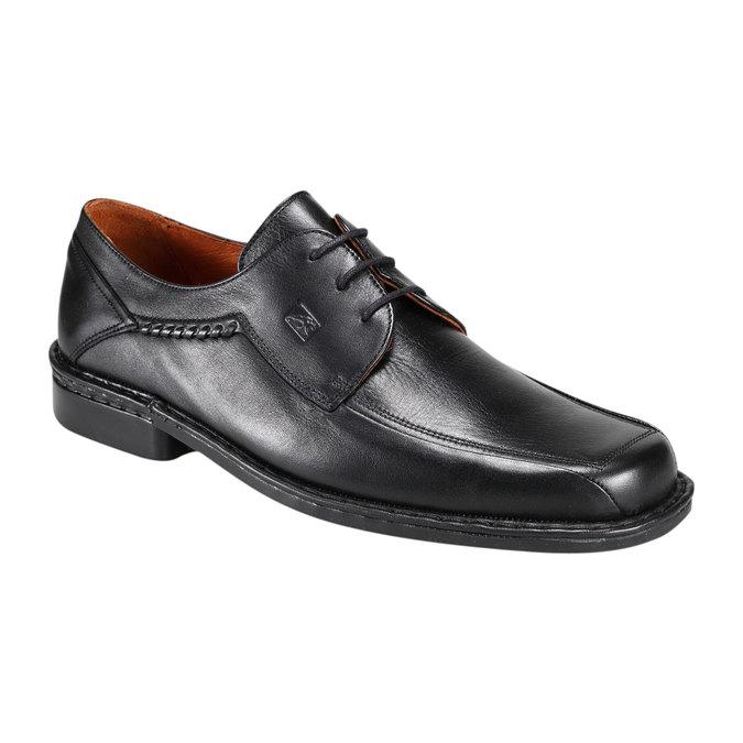 Kožená obuv fluchos, černá, 824-6785 - 13