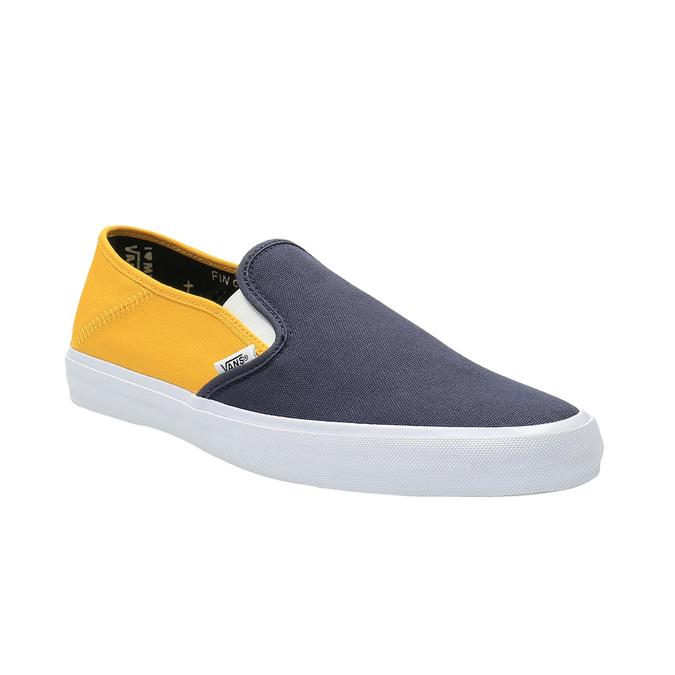 Pánské ležérní Slip on vans, modrá, žlutá, 839-8002 - 13