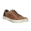 Pánské kožené tenisky bata, hnědá, 826-3651 - 13
