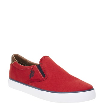 Pánské červené Slip on u-s-polo-assn-, červená, 849-5002 - 13